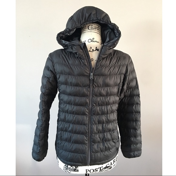Uniqlo Other - Uniqlo packable puffer jacket gray boys 11